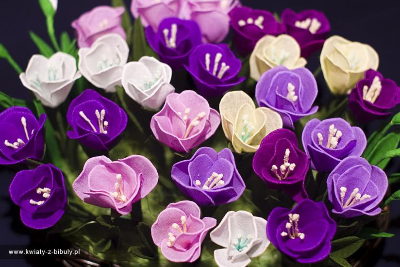 Цветы-поделки из гофрированной бумаги своими руками